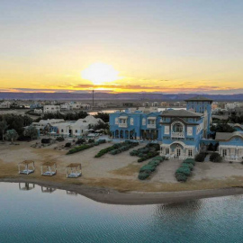 la-maison-bleue-el-gouna-luxury-hotel-red-sea-aerial-view