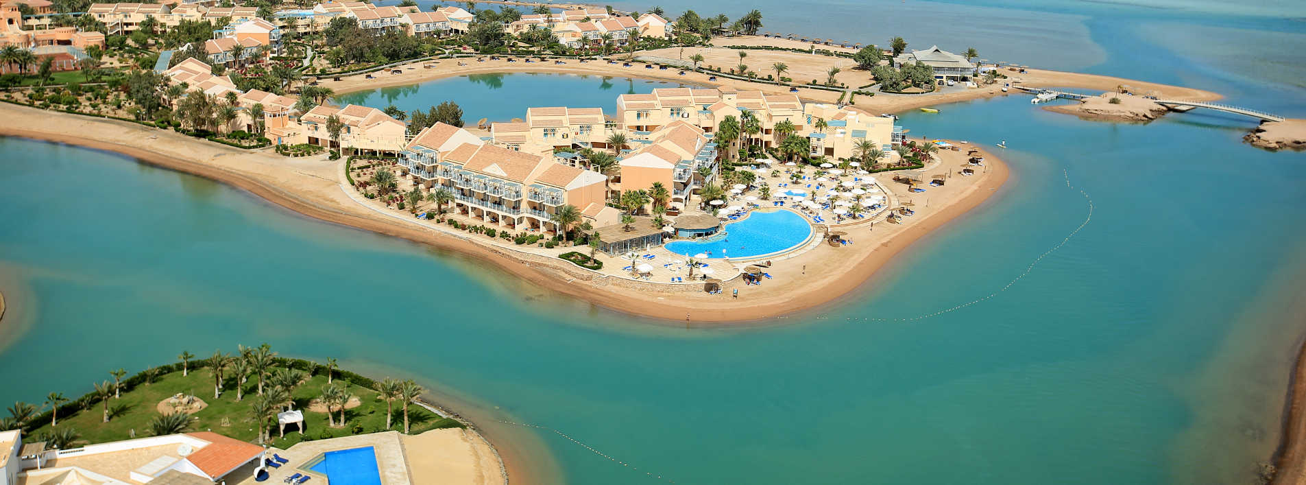 Mövenpick Resort and Spa El Gouna Bird eye Beach view