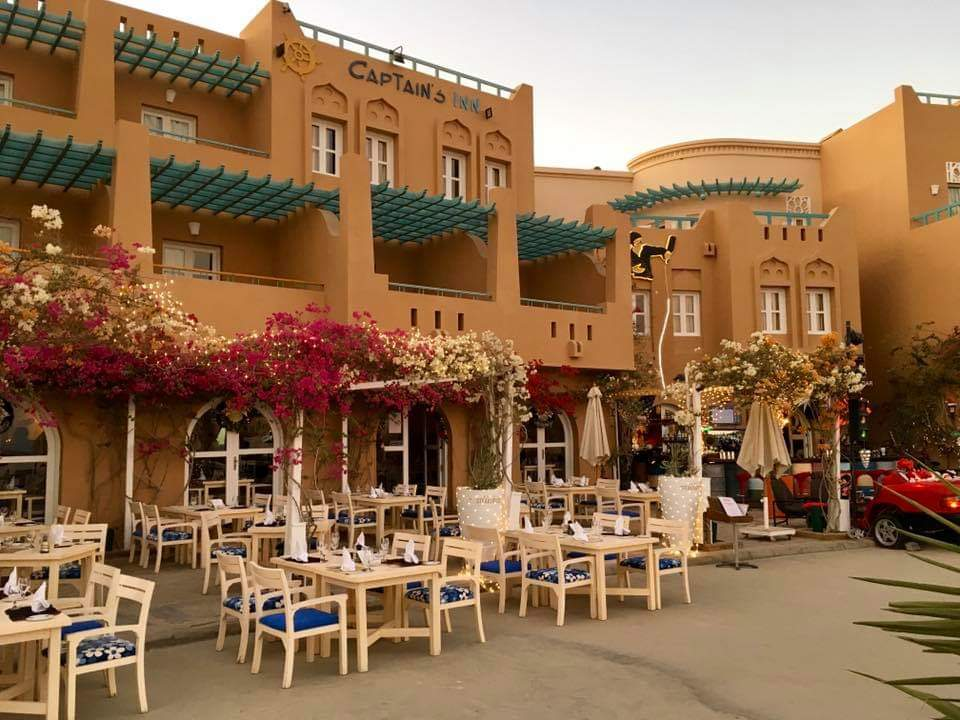 The steakhouse restaurant in Abu Tig Marina for dining in El Gouna Red Sea