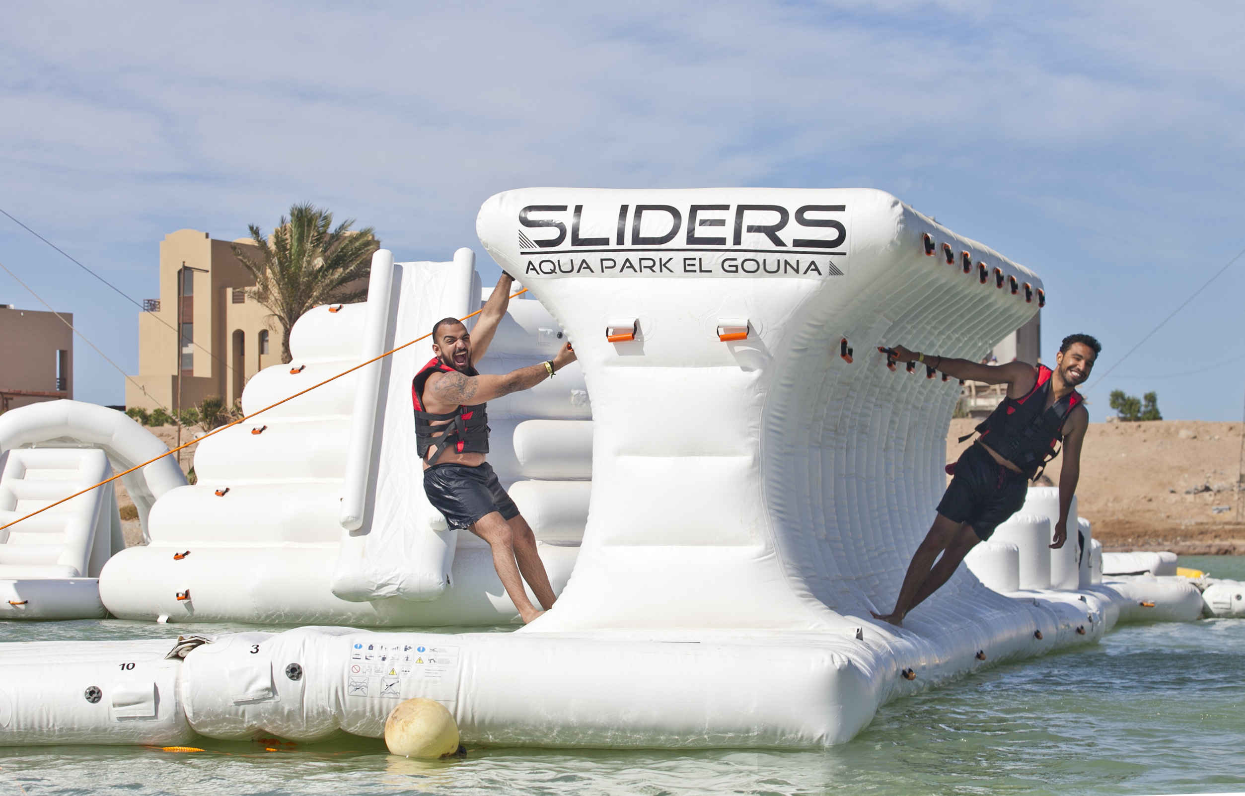 Sliders Aqua Park for all family and fun activities in El Gouna