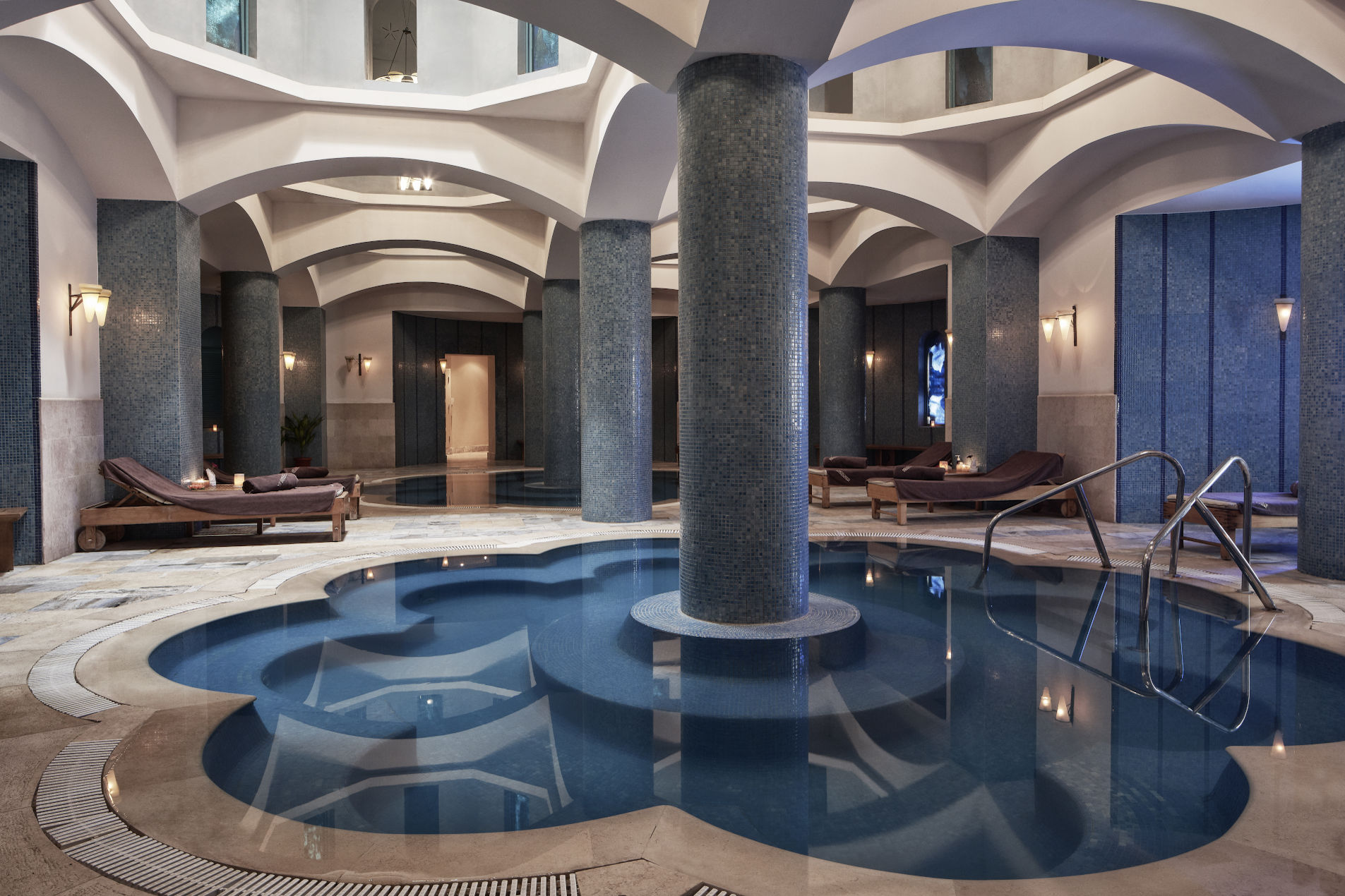luxury Spa of five Star Steigenberger Golf Resort El Gouna