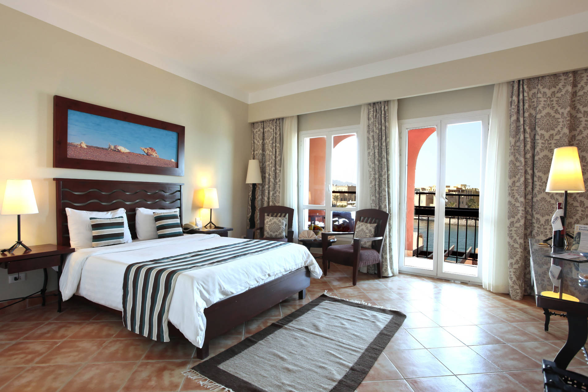 Connected Room of Ocean view Adults only Hotel El Gouna