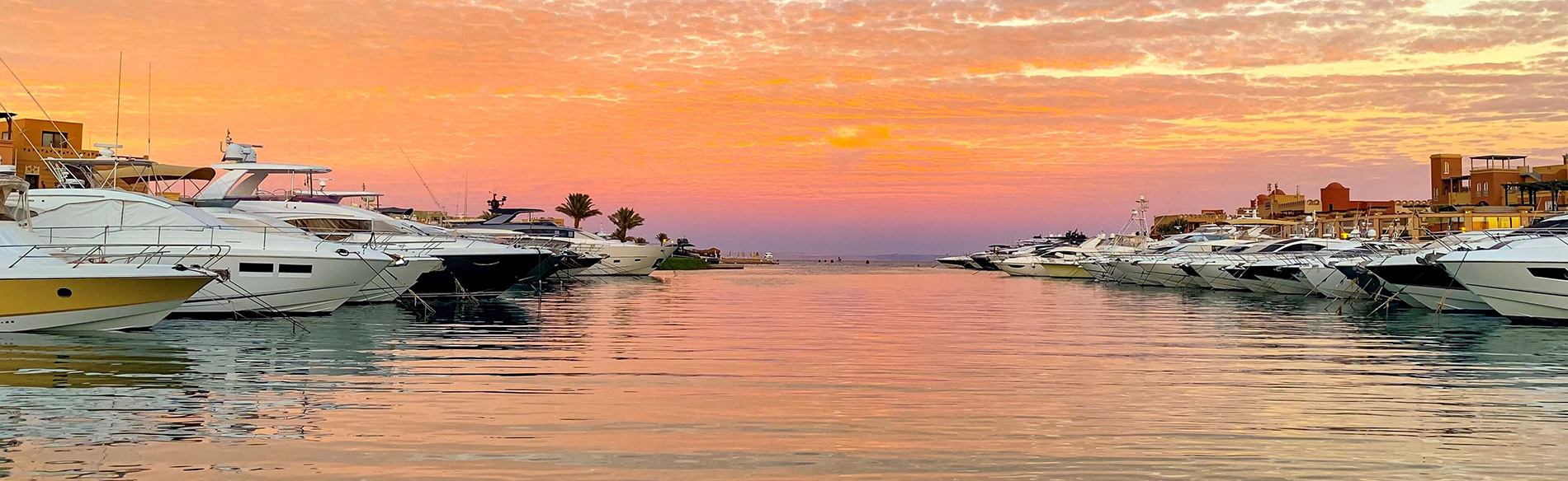 Abu Tig Marina El Gouna Red sea Hotels - beautiful sunrise