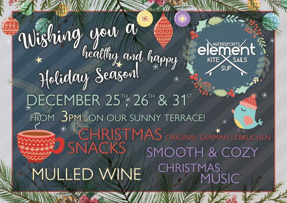 Element celebration for the Christmas and New Year Eve in El Gouna Red Sea