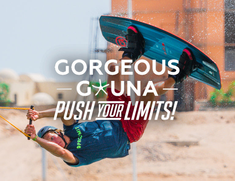 Wakeboarding as a water sport option in push your limits package from El Founa Hotels for 2020