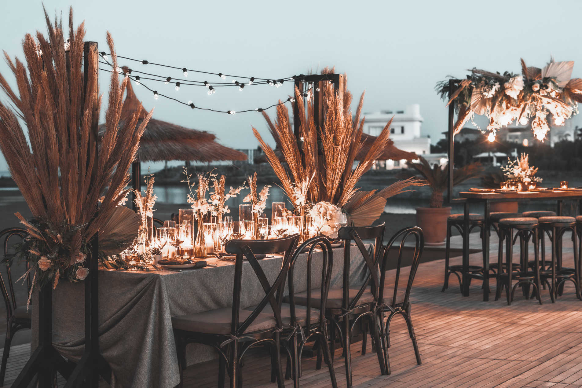 A wedding decor in Casa Cook El Gouna by the Red Sea Shores